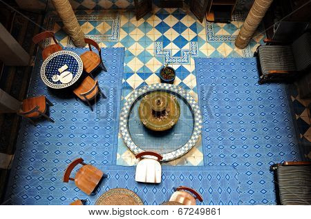 Essaouira - September 29: Inside Part Of A Typical Accommodation Called :
