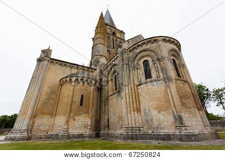 Aulnay De Saintonge Church Chevet