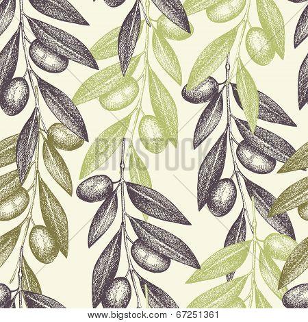 Vintage Olive Background
