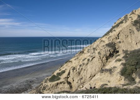 The beaches and cliffs of Torrey Pines