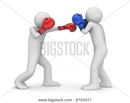 Attack and defence in boxing