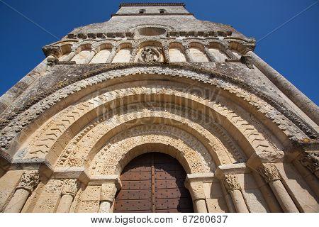 Rioux Church Entrance