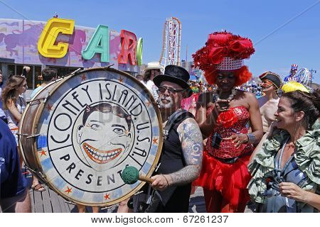 Dick Zigun, president of the Coney Island Association
