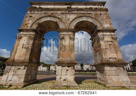Saintes Germanicus Roman Arch