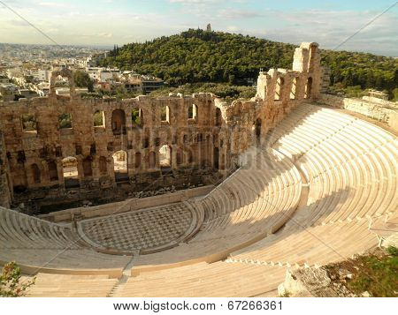 Amphitheatre Amphitheater Athens Greece