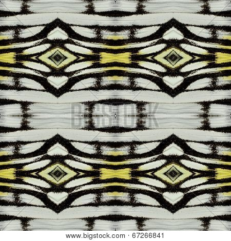 Close Up Of Background Pattern Made Of Common Gull Butterflies' Wing Skin