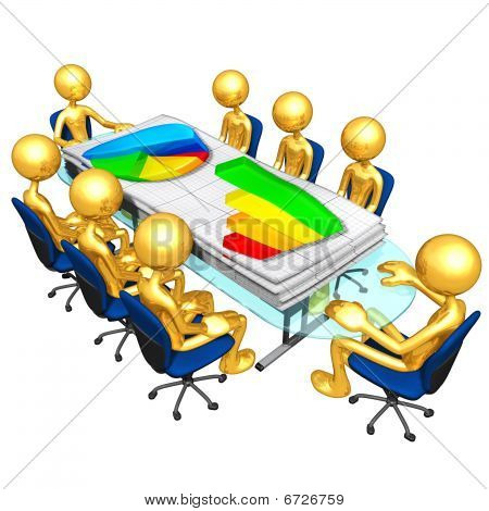 Gold Guys Business Reports Meeting