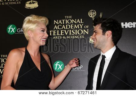 LOS ANGELES - JUN 22:  Freddie Smith at the 2014 Daytime Emmy Awards Arrivals at the Beverly Hilton Hotel on June 22, 2014 in Beverly Hills, CA