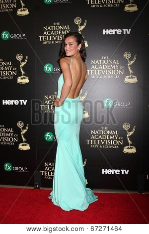 LOS ANGELES - JUN 22:  True O'Brien at the 2014 Daytime Emmy Awards Arrivals at the Beverly Hilton Hotel on June 22, 2014 in Beverly Hills, CA
