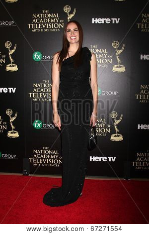LOS ANGELES - JUN 22:  Natalia Livingston at the 2014 Daytime Emmy Awards Arrivals at the Beverly Hilton Hotel on June 22, 2014 in Beverly Hills, CA
