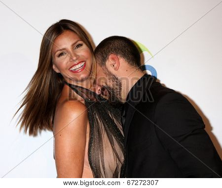 LOS ANGELES - JUN 24:  Charisma Carpenter, Michael T. Rossi at the 5th Annual Thirst Gala at the Beverly Hilton Hotel on June 24, 2014 in Beverly Hills, CA