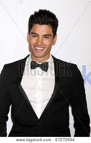 LOS ANGELES - JUN 24:  Siva Kaneswaran at the 5th Annual Thirst Gala at the Beverly Hilton Hotel on June 24, 2014 in Beverly Hills, CA