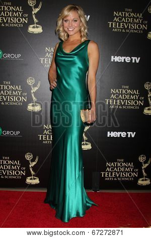LOS ANGELES - JUN 22:  TIffany Coyne at the 2014 Daytime Emmy Awards Arrivals at the Beverly Hilton Hotel on June 22, 2014 in Beverly Hills, CA