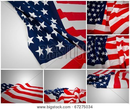 Collection of American Flag