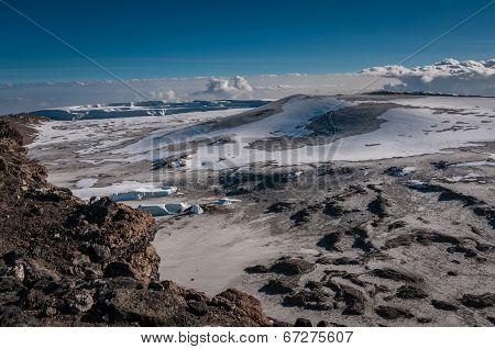 Inside The Crater Rim, Kilimanjaro