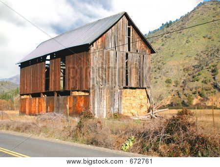 Oregon Barn-1