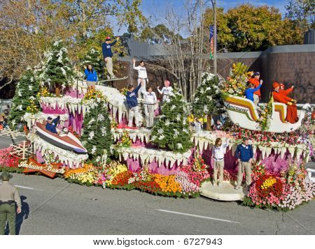 """The Anheuser-busch """"Vancouver"""" Float"""