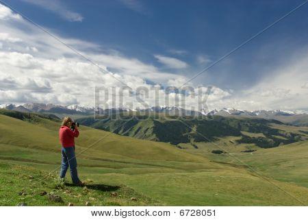 Mountains Tjan Shan