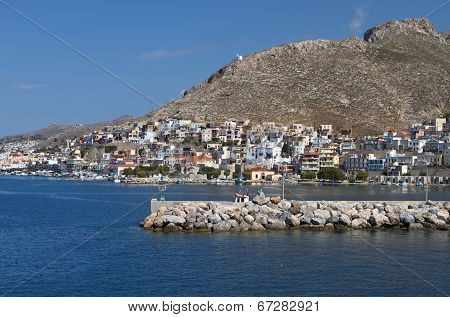 Kalymnos island in Greece