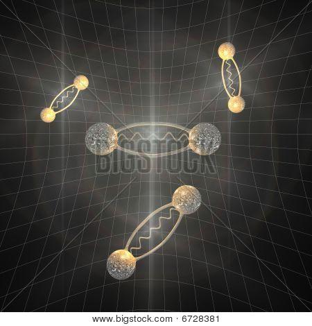 Pares de elétrons Positron