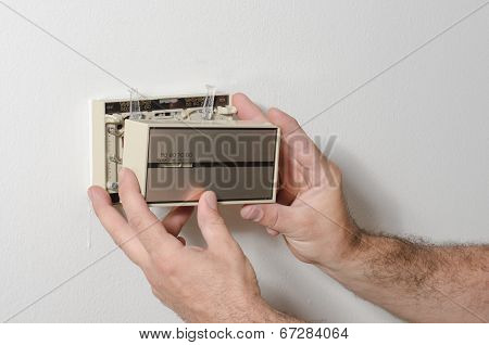 Removing A Thermostat Cover