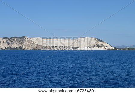 Nisyros island in Greece. Gyali islet