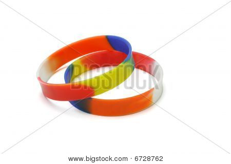 Multicolor Wrist Bands