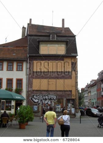 'Abandoned building former East Germany (Erfurt)