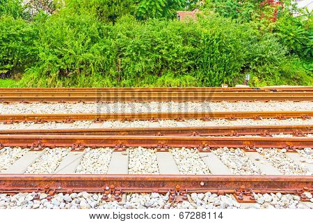 Rail Tracks Horizontal