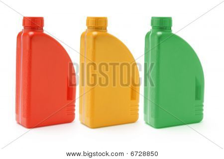 Motor Oil Containers