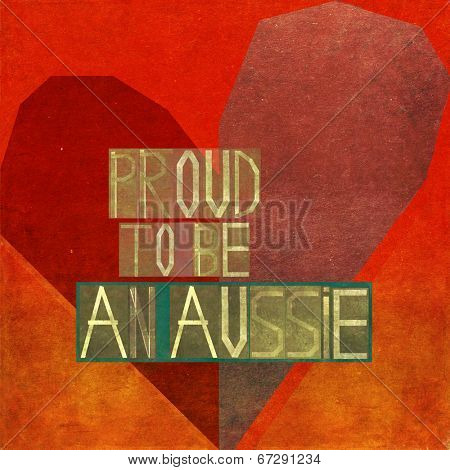 Proud to be an Aussie