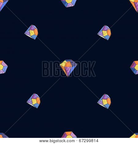 vector glamour diamond background