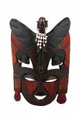 stock photo of african mask  - Old african mask - JPG