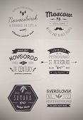 image of bundle  - 6 Hand Drawn Style Logos - JPG