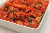 foto of kimchi  - Kimchi into a bowl korean vegetarian food - JPG