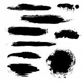 pic of expressionism  - Black Blobs Set - JPG