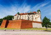 stock photo of na  - Walls of Wawel Royal Castle  - JPG