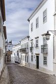 foto of faro  - Historic old district in Faro Algarve  - JPG