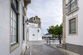 image of faro  - Old town district in Faro South of Portugal - JPG