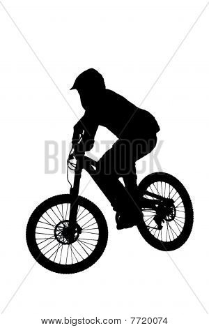 mountainbike rider