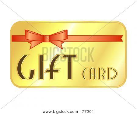 Generische Geschenk-Kreditkarte