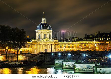Institut De France Building In Paris, France
