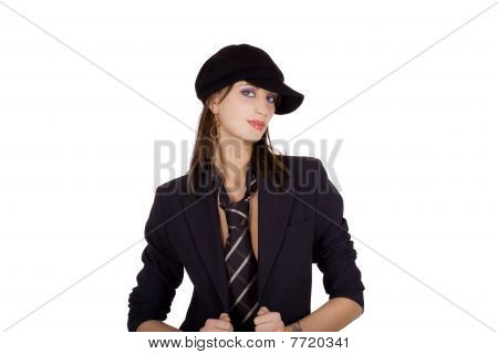 Fashionable Business Woman