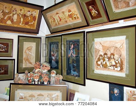 Tashkent Art Workshop In Almazar Madrassah 2007