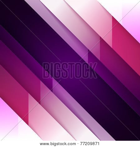 Abstract purple and violet triangle shapes background