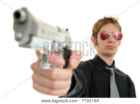 Punta de pistola