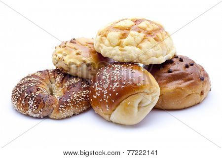 assortment of bread