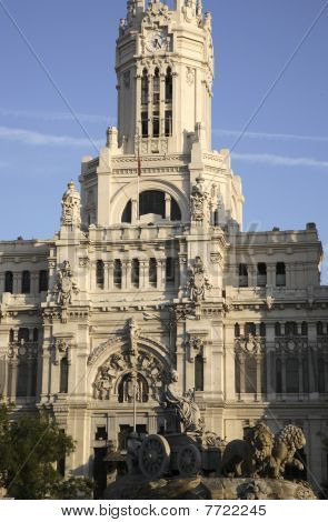 City Hall and Cibeles Fountain, Madrid