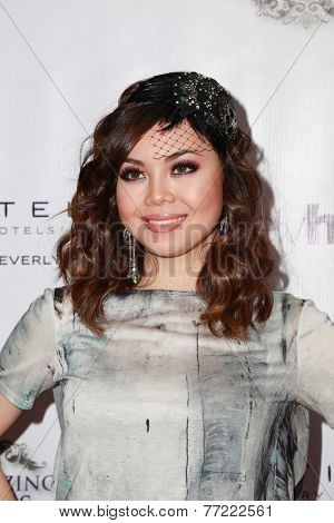 LOS ANGELES - NOV 8:  Anna Maria Perez De Taglia at the 3rd Annual Unlikely Heroes Awards Dinner And Gala at the Sofitel Hotel on November 8, 2014 in Beverly Hills, CA