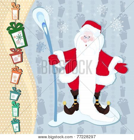 Santa Claus And The Magic Stick